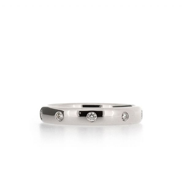Bezel-Set 0.25ct Diamond Eternity Ring